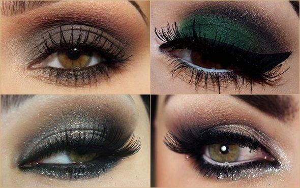 Какие тени подходят для каре зеленых глаз фото