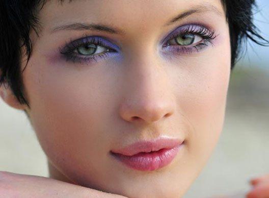 Какие тени подходят зеленым глазам фото