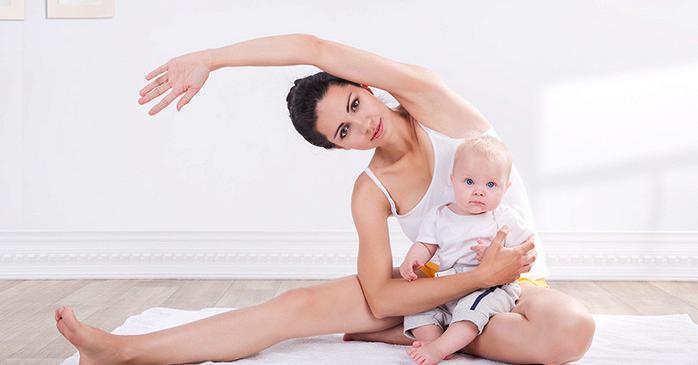 Какие упражнения можно делать сразу после родов
