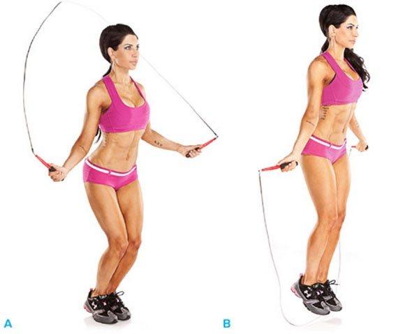 Прыжки Для Похудения Эффективные. Прыжки для похудения и результаты