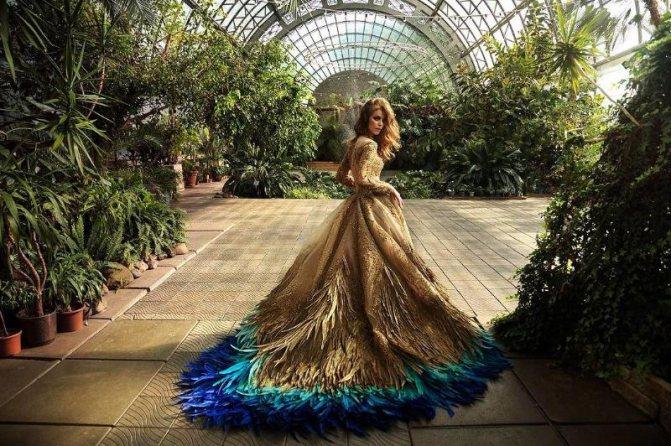 Каким было свадебное платье