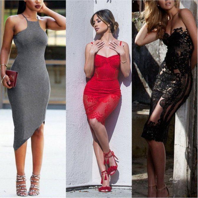 Какое бельё выбрать под обтягивающее платье?