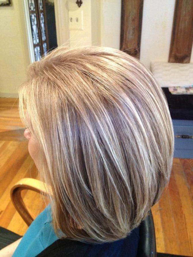 какой краской закрасить седину на темных волосах