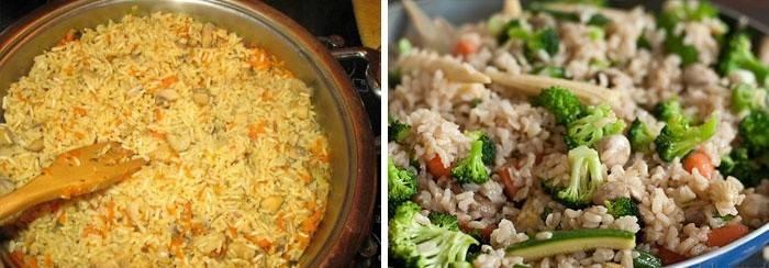 Калорийность бурого риса