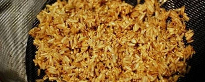 Калорийность коричневого риса