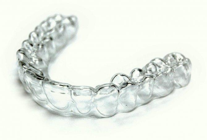 Капа для отбеливания зубов в домашних условиях