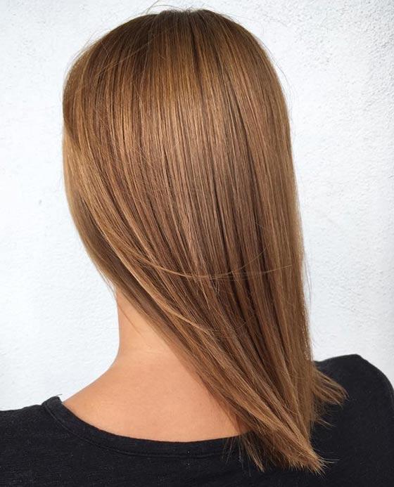 Карамельная блондинка