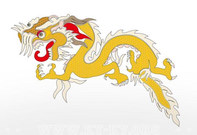 Картинка тату: Китайский дракон