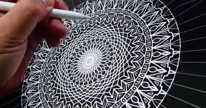 Картинки по запросу drawing mandala