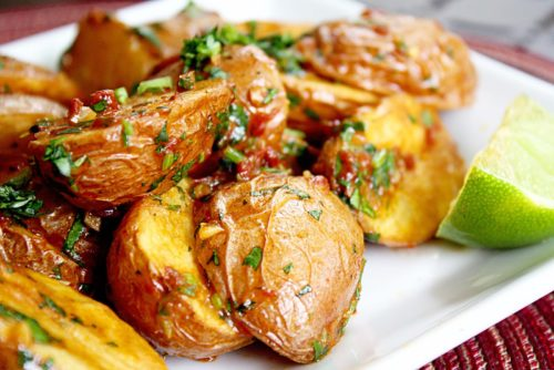 Картофель запеченный «в мундире»