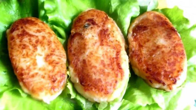 Картофельные зразы с грибами – постный рецепт