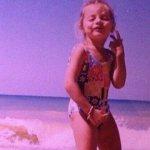 Катя Кищук в детстве