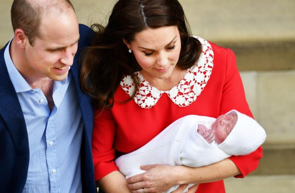 Кейт Миддлтон родила третьего ребенка