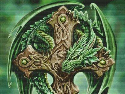 Кельтский дракон