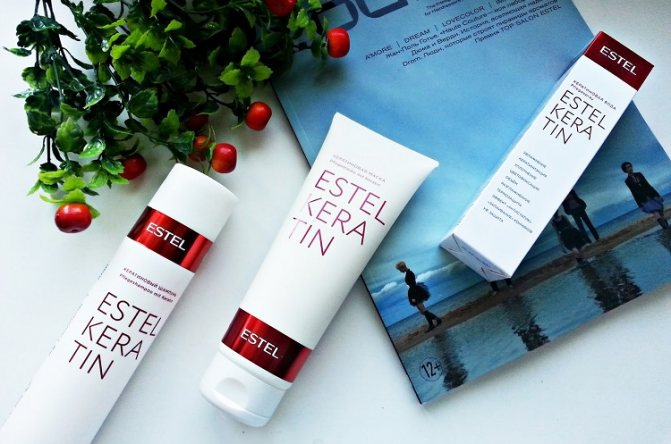 Кератиновая вода от производителя продукции Эстель - описание косметического средства