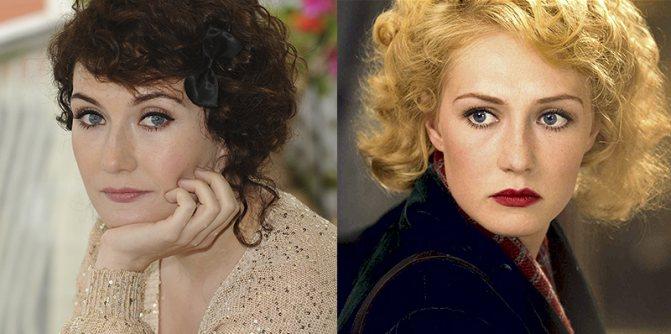 Кэрис Ван Хаутен из брюнетки в блондинку и еще 34 другие актрисы