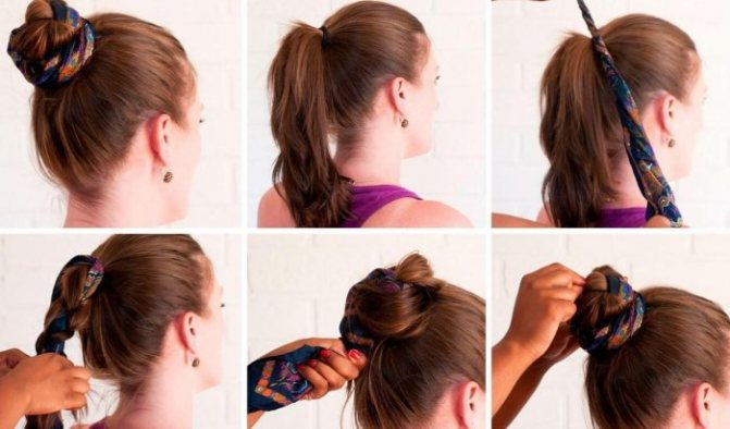 Кичка для волос, как делать