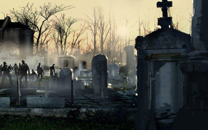 Кладбище и могилы в воде: к чему снится