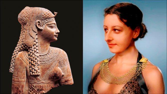 Клеопатра - женский стандарт красоты в Египте