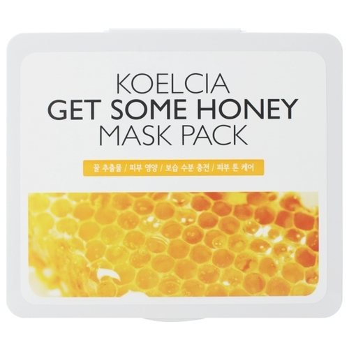 KOELCIA тканевая маска Get Some Mask Pack с экстрактом мёда