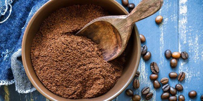 Кофе для окрашивания в темный цвет без краски