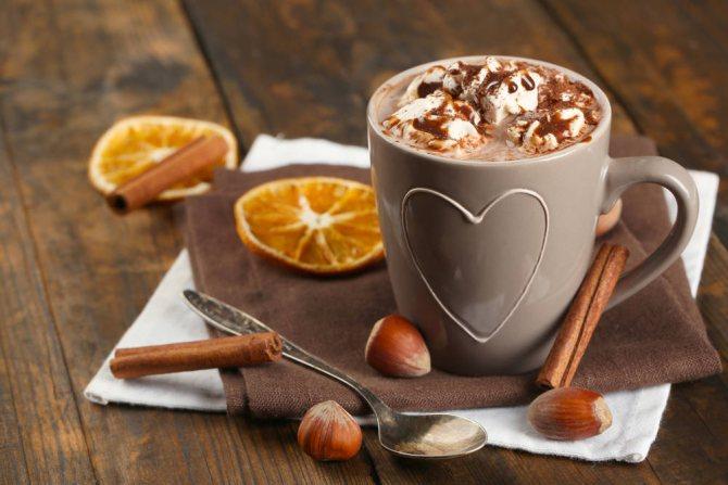 кофе с фундуком