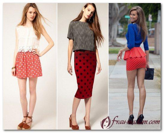 кофта под красную юбку