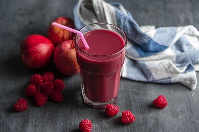 коктейль из ягод