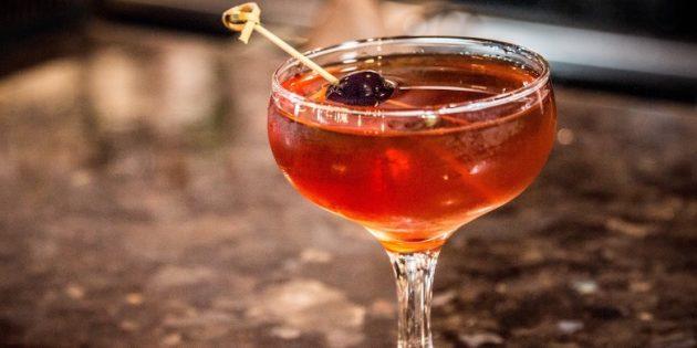 Коктейли с виски: Манхэттен