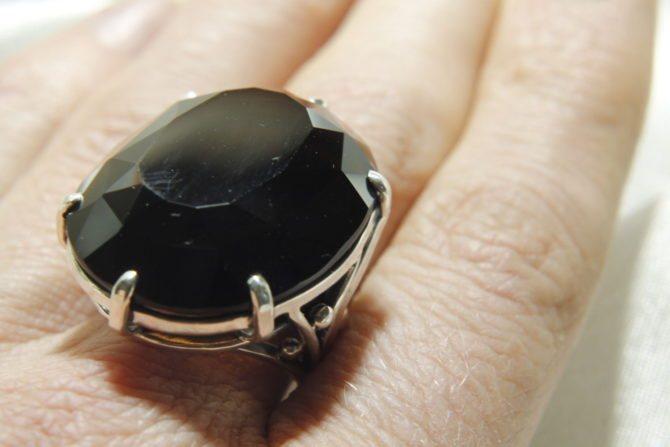 Кольцо из колдовского минерала