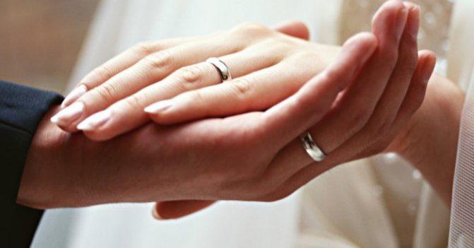 кольцо при втором браке
