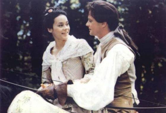 Колин Ферт и Мэг Тилли (кадр из фильма «Вальмон»)