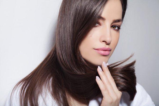 Коллагеновое восстановление волос Фото 2