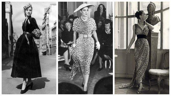 Коллекция Christian Dior 1947 года фото № 2