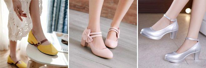 Кому идут туфли Мэри Джейн дизайн