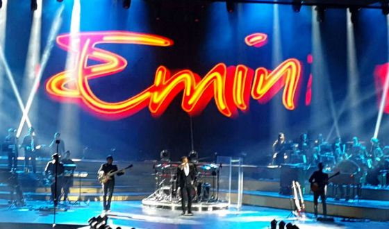 Концерты Эмина часто проходят в Крокус Сити Холле