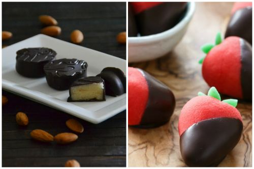 конфеты в шоколадной глазури