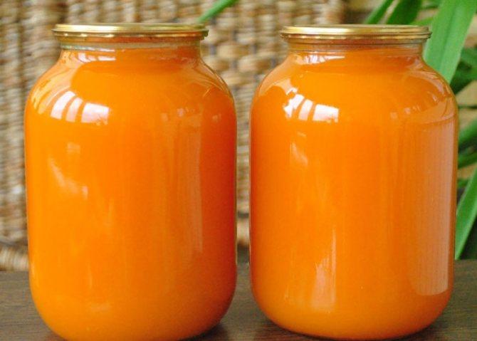 Консервированный морковный сок