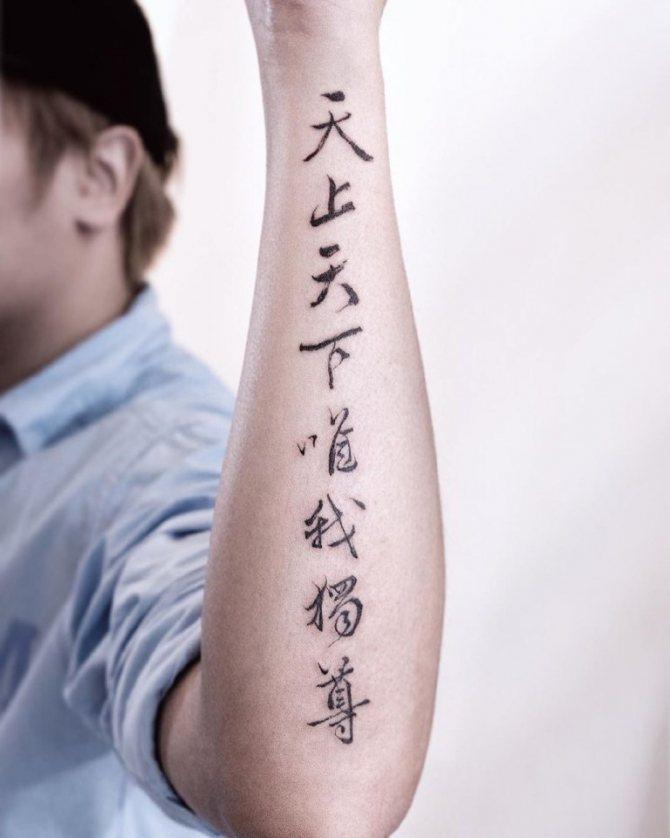 корейские иероглифы и их значение