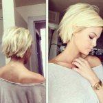 короткие стрижки для блондинок