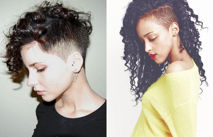 Короткие стрижки на вьющиеся волосы для женщин, не требующие укладки. Фото