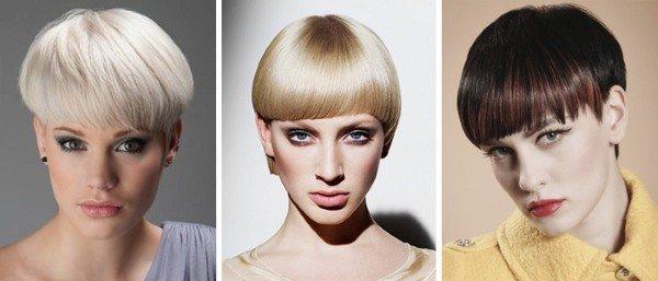 Короткие стрижки с челкой на бок для девушек и женщин. Фото, модные тенденции, новинки 2020