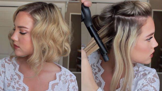 короткие волосы