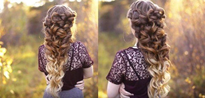 Коса «Богиня»
