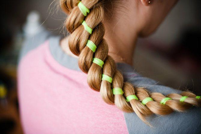 Богемная коса из жгутов: как плести оригинальную косичку и идеи причесок на основе жгута