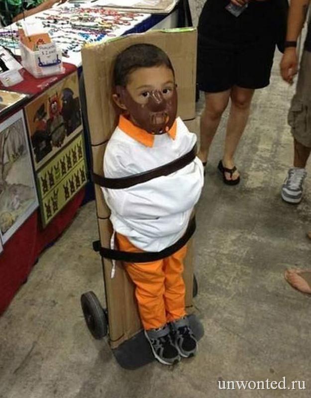 Костюм Ганнибала Лектера на Хэллоуин для ребенка