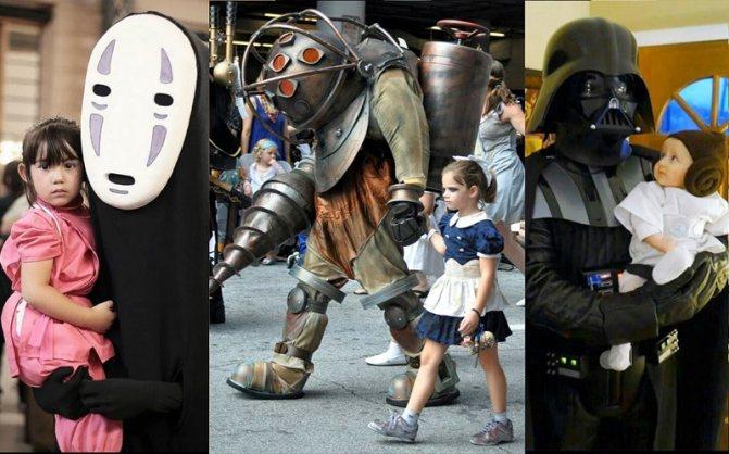 костюмы детей, Хэллоуин