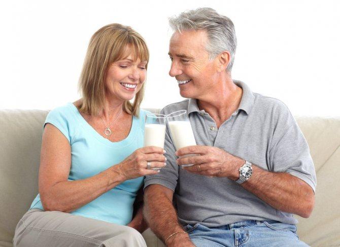 Козье молоко для пожилых людей