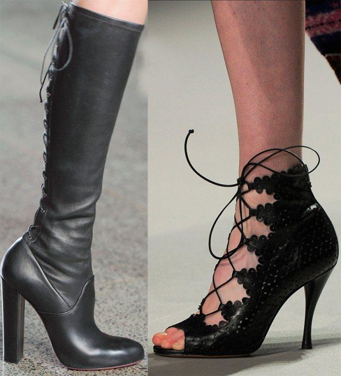 Красивая и модная женская обувь 2015-2016