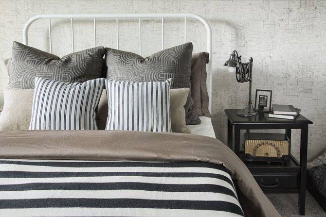 красиво заправить кровать